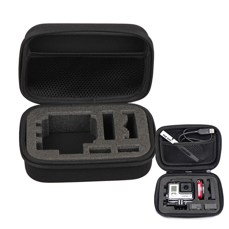 For Gopro Accessories High Quality Protective Storage Carry Case Box Bag for Hero5/4/3+/3 sjcam xiaomi yi Eken h9 H9R action cam