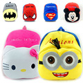 Plush Cartoon Kid Student School Backpack For Child School Bags For Teenage Girls Baby Mini Bags Boy Mochila Infantil 2-5years