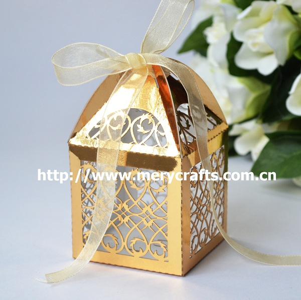 Personalized Engraved Wedding Favours Candy Box For Wedding