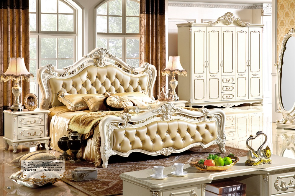 Latest Bedroom Furniture Design Modern Classic Furniture Priness Bedroom  Furniture Set 0407 001 In Beds From Furniture On Aliexpress.com | Alibaba  Group
