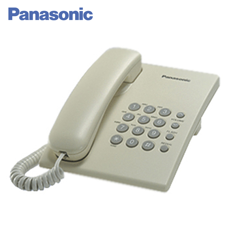 Panasonic KX-TS2350RUJ Phone Home fixed Desktop Phone Landline for home and offfice use. adjustable plastic holder stand for phone and tablet pc black