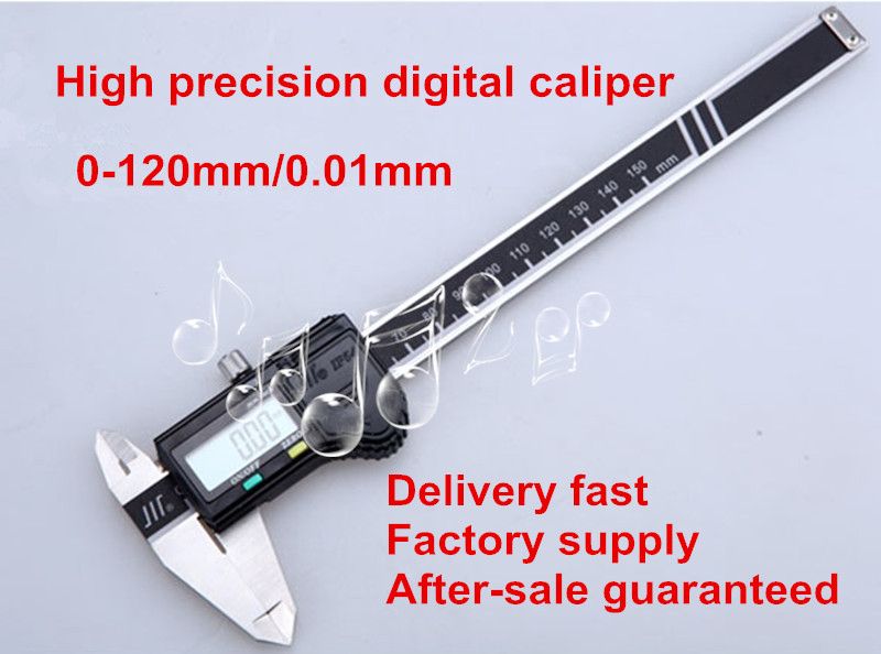 Caliper 150 mm / 6 inch LCD electronic Digital Vernier Caliper stainless steel metal processing of high precision measuring tool black chrome custom motorcycle skeleton bone mirrors for harley davidson street glide