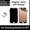 100% Testado LCD para Samsung Galaxy S4 com Tela de Toque Digitador Assembléia para i9500 i9505 i337 Lcd com Ferramentas
