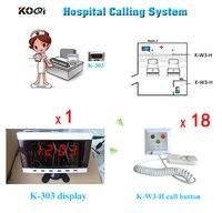 Hospital Clinic sem fio enfermeira chamada de serviço de emergência médica chamada sistema K 303 inglês Prompt de w 18 pcs chamando botão|call button|wireless nurse call|nurse call button -