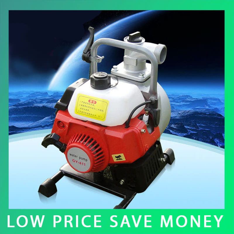 IE40-6 1inch 30m High Pressure Gasoline Water Pump Farm Use Irrigation Pump 1.8kw 3 inch gasoline water pump wp30 landscaped garden section 168f gx160 agricultural pumps