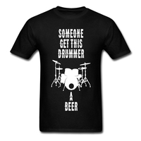 Men Letter Zone T Shirt Someone Get This Drummer A Beer T Shirt For Youth Screw