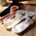 4 Pieces a lot Sweet girl low lolita socks lace short spring summer sock bowknot women princess kawii cute sock