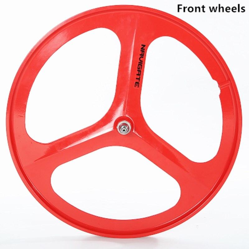 700 vélo de route de haute qualité à vitesse unique roues de vélo à engrenages fixes roues en alliage de magnésium 1 pièces - 2
