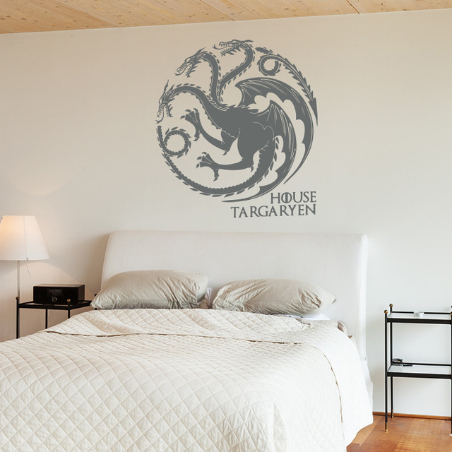 House Targaryen Removable Wall Sticker