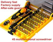 Hand tools 45 in 1 screwdriver set multi-function ferramentas digital product suits maintenance herramientas
