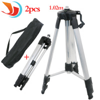 Portable High Quality 1 02m Adjustable Height Thicken Aluminum Tripod 5 8 Male Threads Laser Level