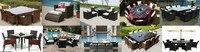 ПЭ ротанг плетеная столовые комплект sctc-078