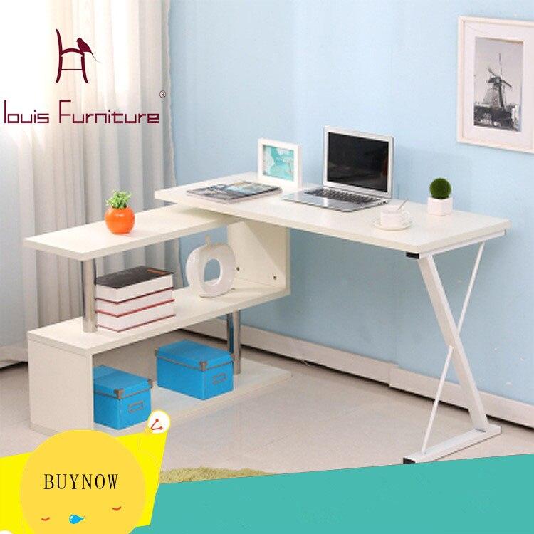 US $73.0 |Corner computer desk desktop household contracted corner computer  desk bookcase put simple children\'s desk-in Console Tables from Furniture  ...