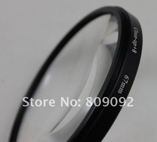 GODOX 67 мм+ 8 Макро фильтр для объектива для цифровой камеры
