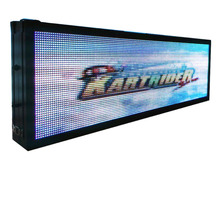 66 inch P10 48*160 pixel Outdoor Double Sided RGB Full-Color Video Waterproof LED Display Board