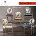 O NOVO Francês poltrona moderna cadeira de jantar de lazer acabamento requintado elegante fezes móveis de cozinha sala de jantar popular