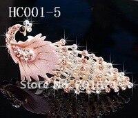 феникс горный хрусталь ювелирные изделия волос аксессуары волос клип, барретт hc001