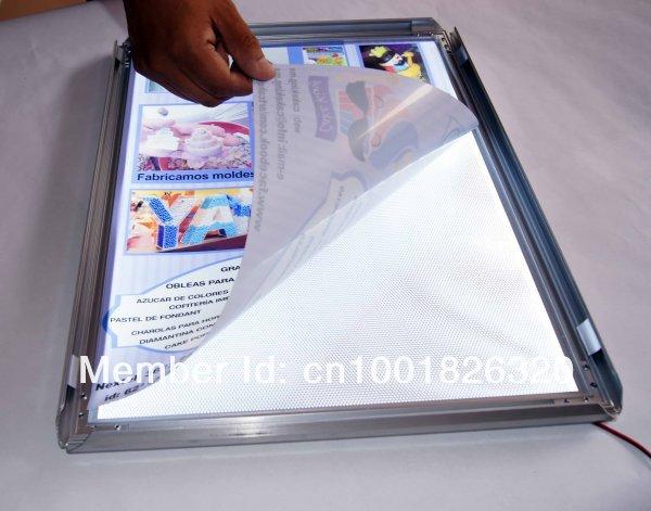 Backlit Easy-Aberto LED Magro Lightbox
