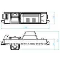 вневременной длинные бесплатная доставка автомобильная камера заднего вида для Тойота RAV4 водонепроницаемый парковка комплект 170 град. широкий вид ночного видения