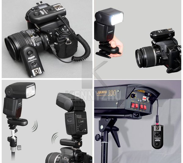 Беспроводная YONGNUO вспышка триггера пульт дистанционного управления Управление RF-603 II C1 2,4G для Canon 60D 1000D 550D 500D 450D 400D 300D T2i T1i XSi XTi