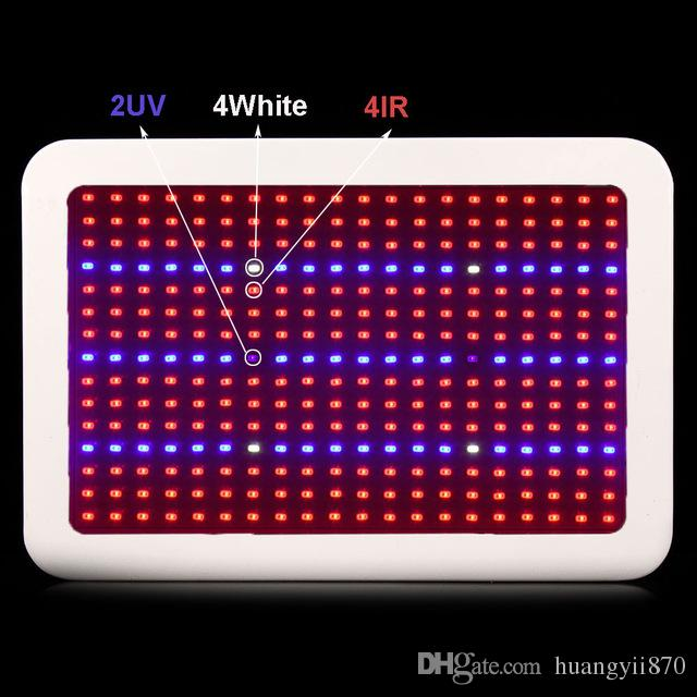 300W Led Grow Light Full Spectrum UV IR Lighting for Hydroponics Greenhouse Grow Tent Led Lamp AC85-265V Grow Tent 30w led grow light ac85 265v full spectrum 290led greenhouse plants hydroponics flower medicine panel grow light