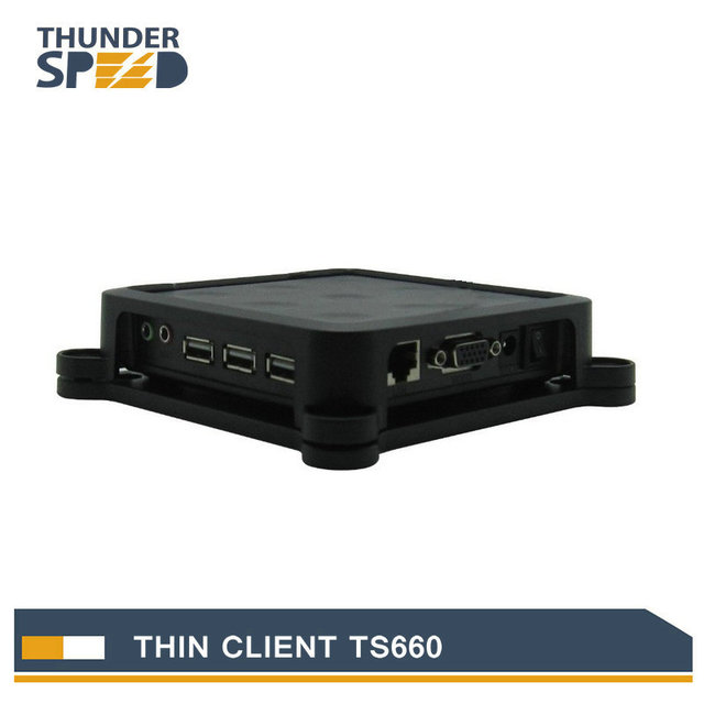 Newest ARM11 Thin Client Net Computer PC Station TS660 Win CE 6.0 Embedded Server OS Support Winows 7 /vista/Linux/xp