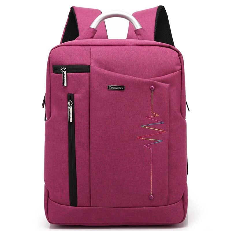 CoolBell Waterproof School Bags for Teenagers Boys Girls Men Women Laptop Backpack 14.4 15.6 inch Notebook Computer Bag
