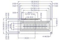16х2 1602 16*2 характер жк-модуль голубой фон белый символов 5.0 в