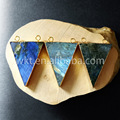 WT-P579 Hot spring sale double hoops triangle labradorite pendant for women