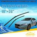 """Lâminas de limpador Para VOLVO V40 (2012-) 2013 2014 2015 2016 Car Windscreen Windshield Wiper Wiper Blade 19 """"+ 26"""" carros acessórios"""