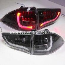 2009-2013 г. Для Mitsubishi Pajero Sport LED задний фонарь, черный корпус, прозрачная крышка YZ
