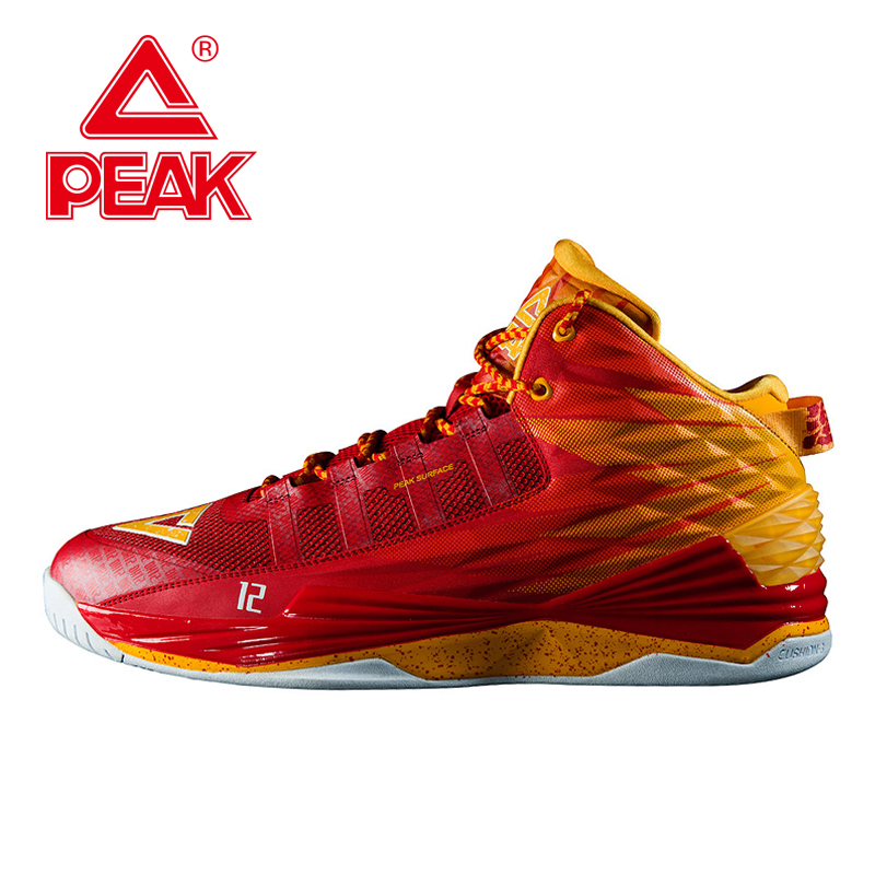 PEAK SPORT Star Series Dwight Howard I New Original Basketball Shoes Men Outdoor Sports Breathable CUSHION-3 Sneakers Boots peak sport professional men women basketball shoes cushion 3 revolve tech sneaker breathable athletic ankle boots size eur 40 48