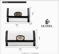 темперамент контрастность цвет кожа леди бумажник большой 1101