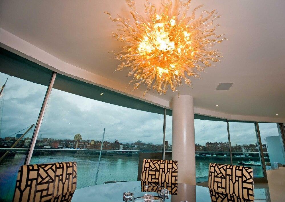 ᑎu2030decorazione dellhotel lampadario con lampadina a led soffiato a