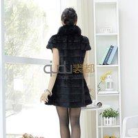 qd0787 зима леди мода воды знак колики с Lisa мм стоит с Корк рукавом женская верхняя одежда