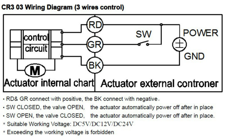 CR3 03 ADC9-35V 3 wires