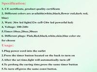 красота bazaarsky синий цвет 18 вт из светодиодов лампа-сушка для маникюра круглый корпус светильник CCFL + из светодиодов лак для ногтей фен светильник гель для полировки сушилка инструмент быстрого драй