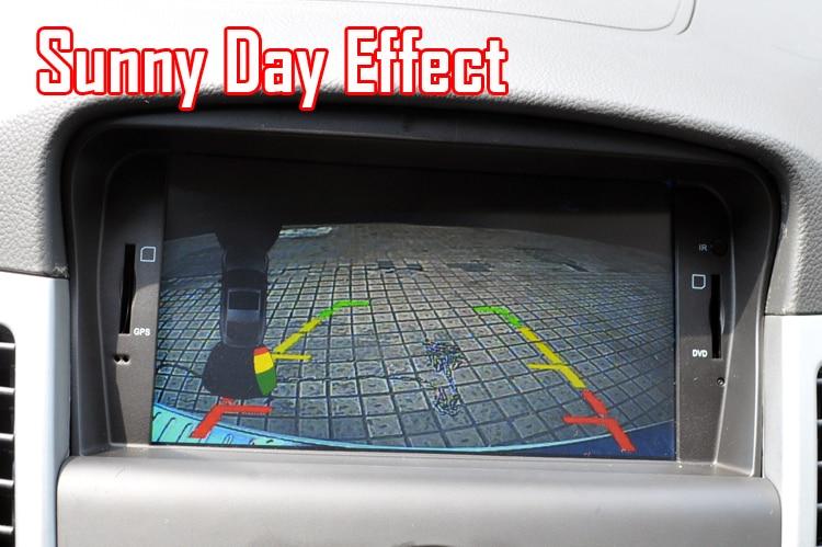 CCD Универсальная автомобильная камера заднего вида, камера заднего вида, парковочная камера ночного видения, водонепроницаемая