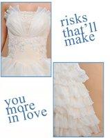 новые милая-плеча элегантный бордель без рукавов длиной до пола кокиль атлас люкс wade платье, бесплатная доставка