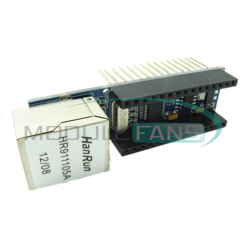 Shield board for arduino nano v mini enc j microchip