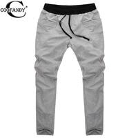 COOFANDY Sweatpants Trousers Men Harem Pants Sport Pants Men S Big Pocket Design Man Cargo Joggers