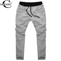COOFANDY Sweatpants Trousers Men Harem Pants Sport Pants Men S Big Pocket Design Man Cargo Joggers