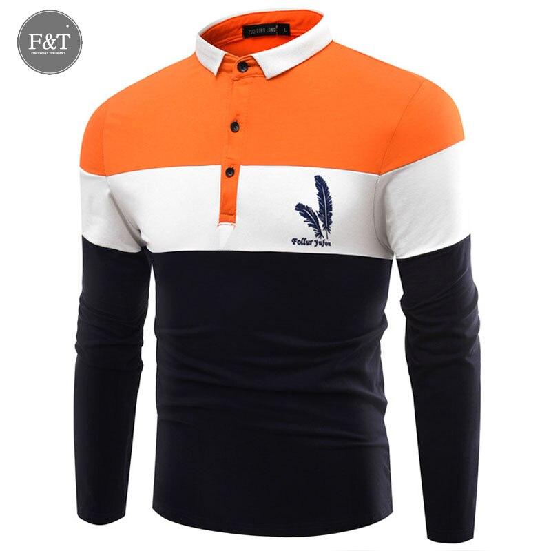 3xl fashion mens polos shirts feather printed trend slim for Mens printed long sleeve shirts