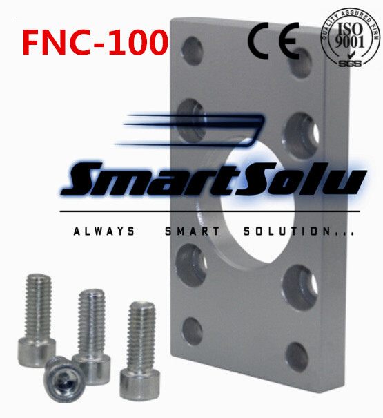 Free Shipping  ISO6431 cylinder accessories FA - 100, flange installation pieces, as FNC-100, DNC, SE, SI cylinder accessories iso 100 в перми