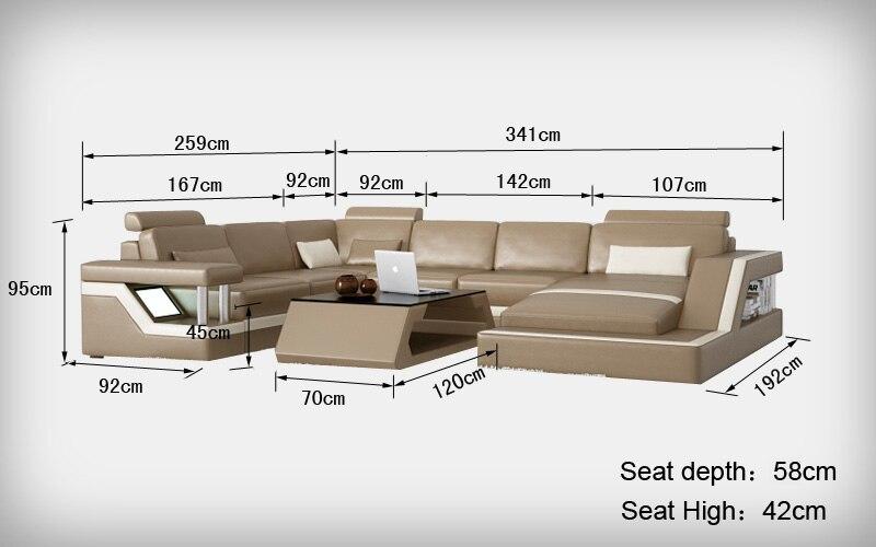 Standard Couch Size popular modern living standard furniture-buy cheap modern living