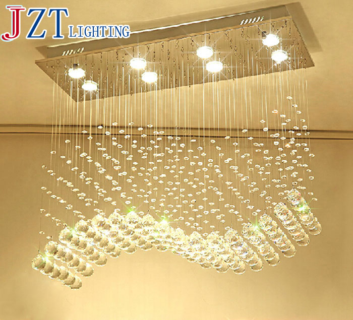 ZYY Best Price New Modern Crystal hanging lamps Creative Crystal Pendant Lamp Luxury Bedroom/Living Room LED Ceiiling Light best price luxury crystal chandelier k9 crystal lamp living room bedroom modern restaurant round creative led lamps lighting