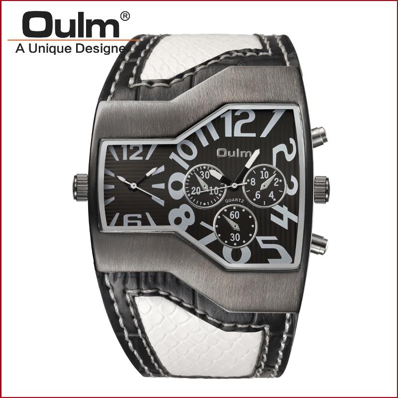 divatbemutató óra sport stílus ötvözet bőrönd öv 2 időzónás kvarc ... f12951f115