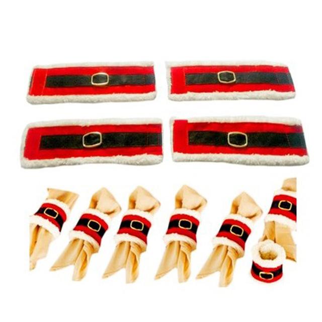 Christmas Napkin Rings 4 pcs/set