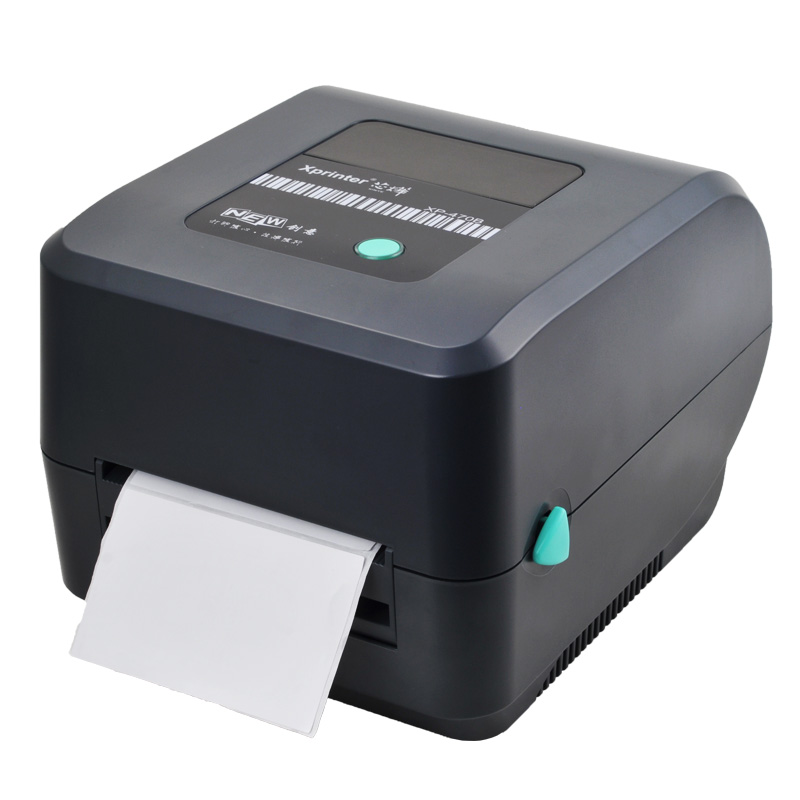 XP-470B 30mm-108mm width Direct Thermal Barcode Label printer 4.25 Inches print width  shipping label printer with outside stand new touch screen touch glass for delta dop b07s410 touch panel dop b07s410 dopb07s410 freeship 1 year warranty