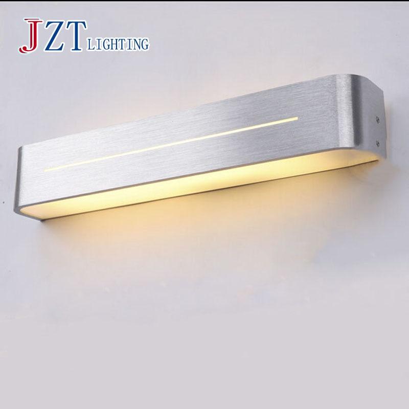 T LED Acrylic waterproof Simple Bathroom Mirror Light Modern Aluminum Indoor Lighting Necessary for makeup 3 size